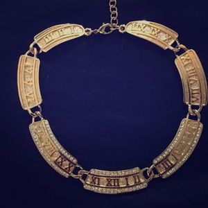 Jewelry - Gold Roman Numeral Necklace